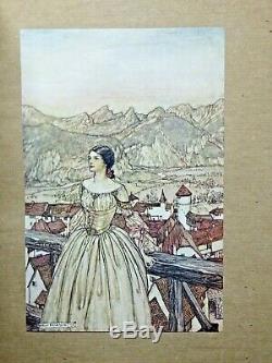 1909 Undine ARTHUR RACKHAM Signed Limited Deluxe Edition ILLUSTRATED Fairy Tale