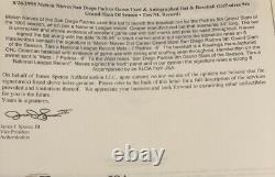1995 Game Used Record Setting Signed HOME RUN / GRAND SLAM BASEBALL Full LOA