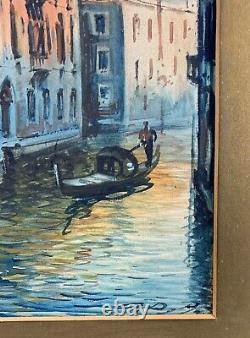 19th Century Grand Tour Italian Watercolour Paintings Venice