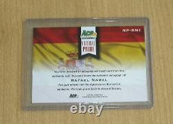 2013 Ace Authentic Grand Slam Tennis autograph auto National Pr Rafael Nadal 1/1