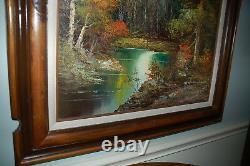 44x32 Original Peter Tensley Jr Original Oil Painting Grand Teton National Park