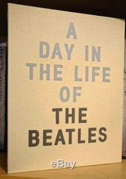 A Day in the Life of The Beatles by Don McCullin Signed Deluxe Cased with Print