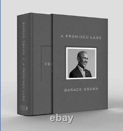 A Promised Land Deluxe Signed Auto Edition President Barack Obama Pre-Order