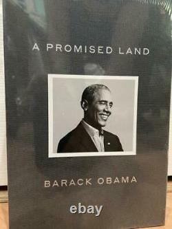 A Promised Land Deluxe Signed Edition Hardcover Book by President Obama Sealed