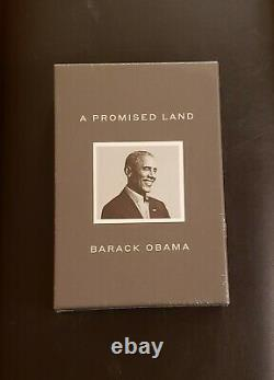 A Promised Land Deluxe Signed Edition by Barack Obama