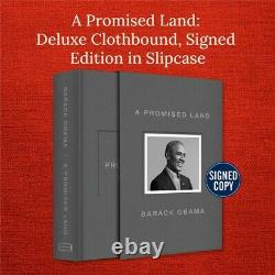 A Promised Land Deluxe Signed Edition by Barack Obama CONFIRMED FAST FREE SHIP