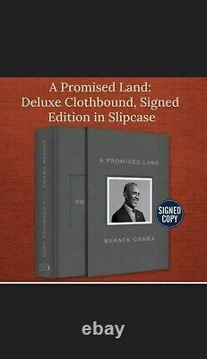 A Promised Land Deluxe Signed Edition by Barack Obama PREORDER 12/01/2020