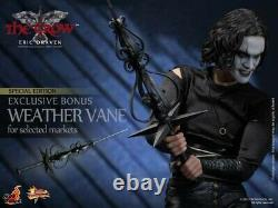 AUTOGRAPHED Hot toys Eric Draven The Crow DELUXE exclusive