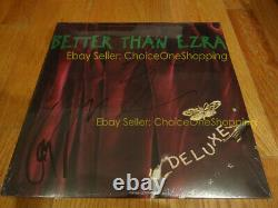 AUTOGRAPHED SIGNED New Sealed BETTER THAN EZRA Deluxe Vinyl LP Kevin Griffin