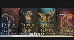 An Ember in the Ashes by S. Tahir, SIGNED Deluxe Set, Limited Edition, Fairyloot