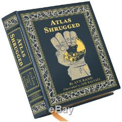 Atlas Shrugged Deluxe Edition, Ayn Rand, Easton Press, Signed, Numbered, SEALED