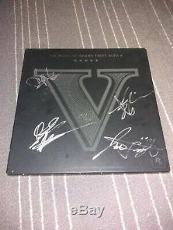 Autographed! Music of Grand Theft Auto V 6-VINYL-Record set under 5000 released