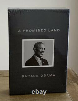 BARACK OBAMA Signed A PROMISE LAND Deluxe 1ST Ed. AUTOGRAPHED