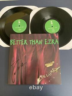 BETTER THAN EZRA Deluxe LP Vinyl NM/NM SIGNED