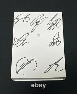 BTS autographed BE Deluxe Edition Limited Album signed PROMO CD