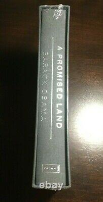 Barack Obama A Promised Land Deluxe Signed Edition Autographed Brand New In Hand