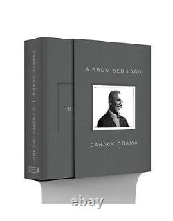 Barack Obama A Promised Land Deluxe Signed Edition Hardcover book autographed