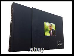 Barack Obama Intimate Portrait SIGNED by PETE SOUZA Hardback Deluxe Limited
