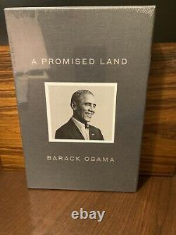 Barack Obama SIGNED A PROMISED LAND Deluxe Book AUTOGRAPHED & SEALED
