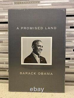 Barack Obama Signed Book A Promised Land Book Deluxe Edition Autograph