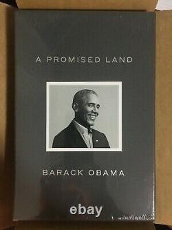 Barack Obama Signed Version A Promise Land Deluxe 1st Ed In Hand Ships Now