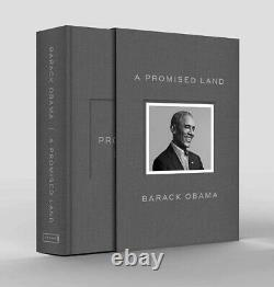 Barack Obama Signeda Promised Land Deluxe 1st Edition Autographed Confirmed