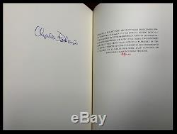 Barfly SIGNED by CHARLES BUKOWSKI Mint 1st Print Hardback Deluxe Limited 1/200