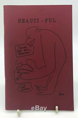 Beauti-ful First deluxe Edition Charles Bukowski Signed Limited edition