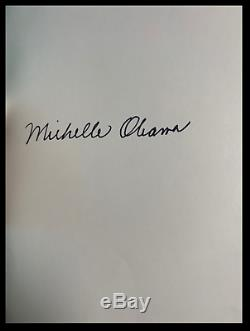 Becoming SIGNED by MICHELLE OBAMA New Sealed Deluxe Cloth Bound Gift Hardback