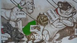 Boris O'Klein Original Etching Grand Prix