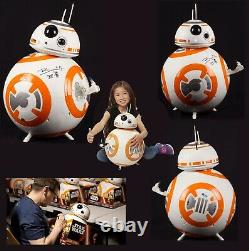 Brian Herring Signed Disney Star Wars Big-Figs Deluxe 18 inch BB-8 Figure WithCOA