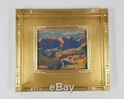 California Artist REY. Fine Oil Painting Plein Air Gem Grand Canyon Landscape