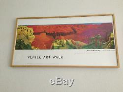 DAVID HOCKNEY SIGNED POSTER Venice Art Walk California Bigger Grand Canyon RARE
