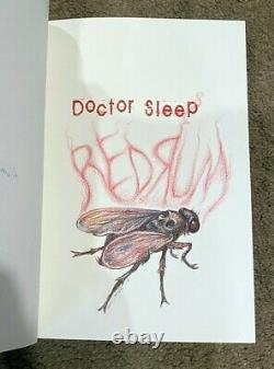 DOCTOR SLEEP Deluxe Artist Traycase Edition Stephen King SIGNED (1/100 #9)