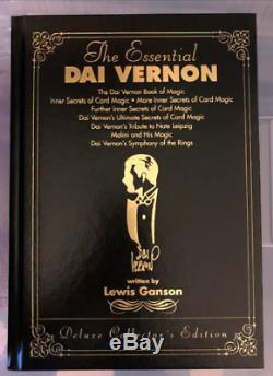 Dai Vernon The Essential Deluxe Collector's Edition Signed