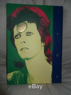 David Bowie Signed Moonage Daydream Deluxe Mick Rock Genesis Publications Book