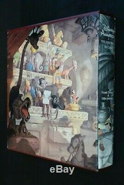 Disney Animation The Illusion Of Life deluxe SIGNED 1st ed with film strip 1981