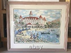 Disney Grand Floridian Stephanie Taylor Sunday Afternoon At LaKe Signed Print