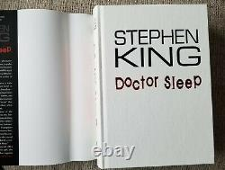 Doctor Sleep Cemetery Dance Deluxe Traycase Edition Signed By Stephen King