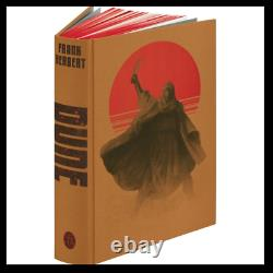 Dune by Frank Herbert SIGNED by ARTIST New Folio Society Deluxe Limited 1/500