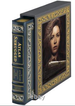 Easton Press ATLAS SHRUGGED Ayn Rand SEALED Lmited 1,200 Deluxe Ed Signed ARTIST