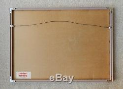 Ed Mell Pencil-Signed Grand Canyon Print Margins = 20 x 11