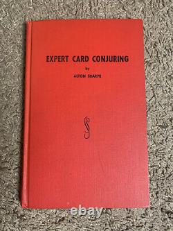 Expert Card Mysteries By Alton Sharpe SIGNED & Numbered /Limited Deluxe Edition