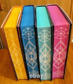 Fairyloot An Ember in the Ashes Quartet Sabaa Tahir SIGNED DELUXE SET