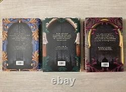 Fairyloot Daevabad by S. A. Chakraborty Deluxe Set Signed Stenciled Edges DJ Art