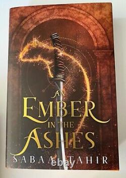 Fairyloot Exclusive An Ember in the Ashes Deluxe Set Signed by Sabaa Tahir