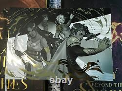 Fairyloot Signed An Ember in The Ashes Deluxe Quartet by Sabaa Tahir + Print