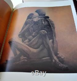Fantastic Art of Beksinski Deluxe Leather Ltd Ed 1/150 with Signed Litho UBER RARE