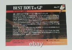 Fedor Emelianenko Signed Auto'd 2006 Pride Fc Grand Prix Best Bout Card #77 Ufc