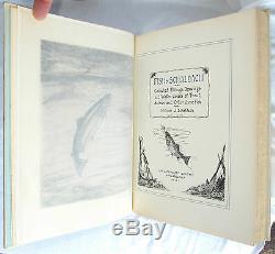 Fish By Schaldach SIGNED DELUXE ED Vellum 153/157 William Schaldach Fishing 1937